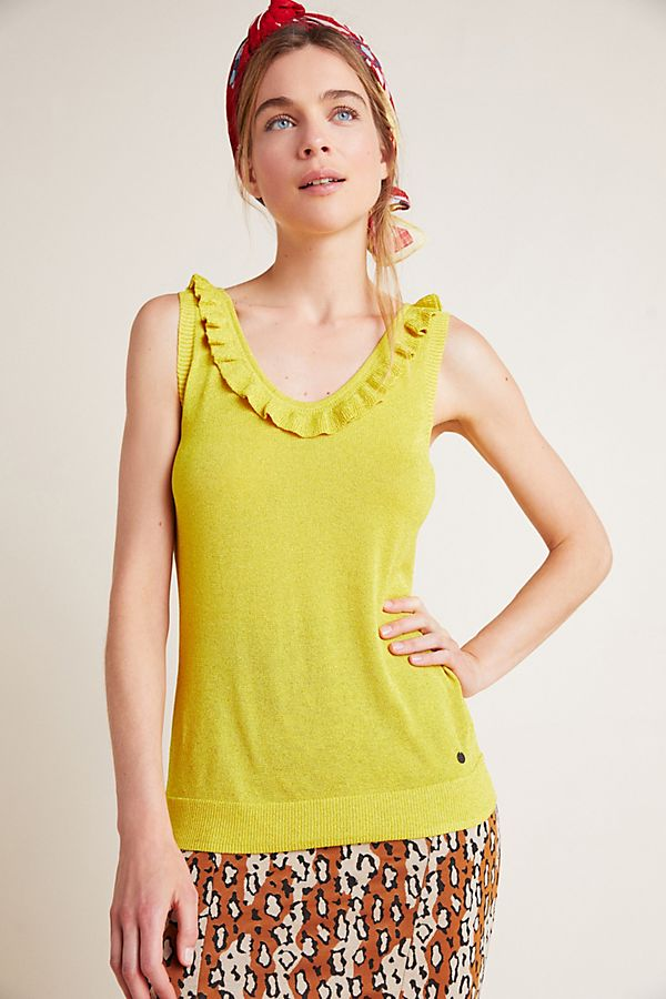 Slide View: 3: Shimmer Sweater Tank