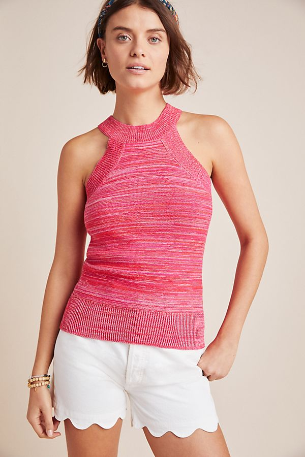 Slide View: 1: Sloane Sleeveless Knit Top
