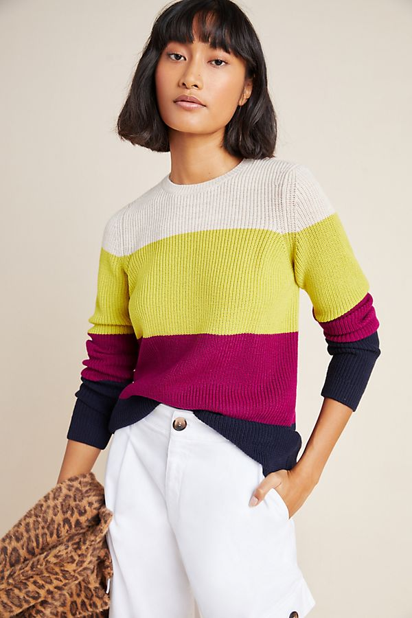 Slide View: 1: Kay Merino Wool Sweater