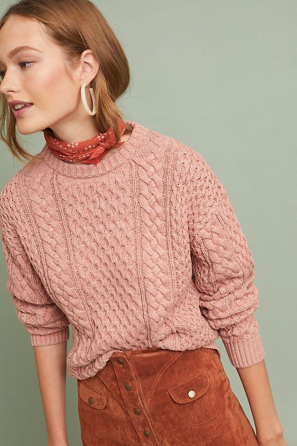 009d223388b Frye Erin Fisherman Sweater