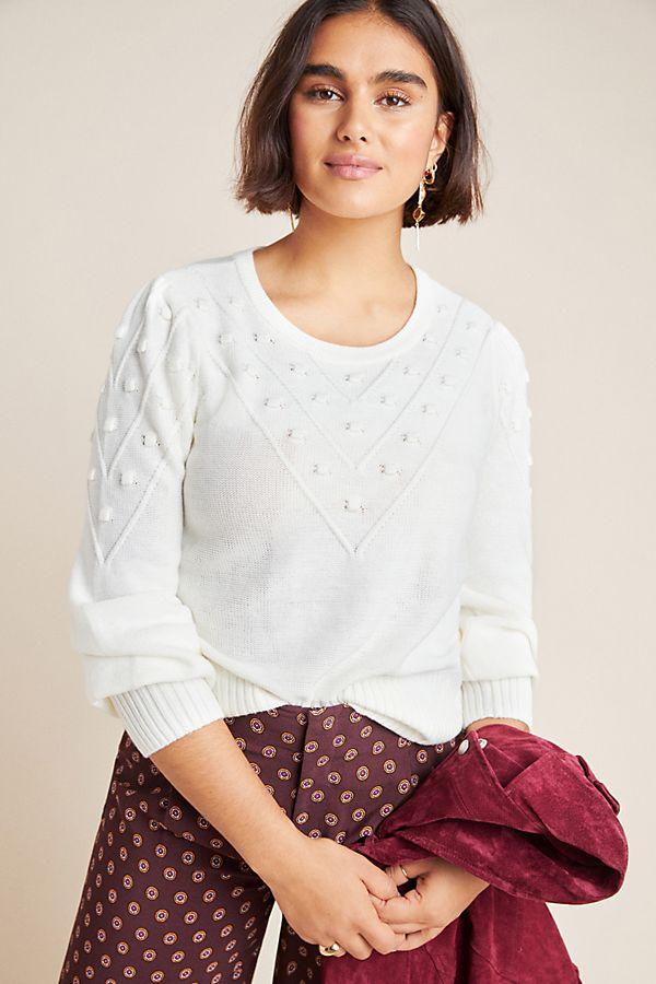 Slide View: 1: Catriona Pommed Sweater
