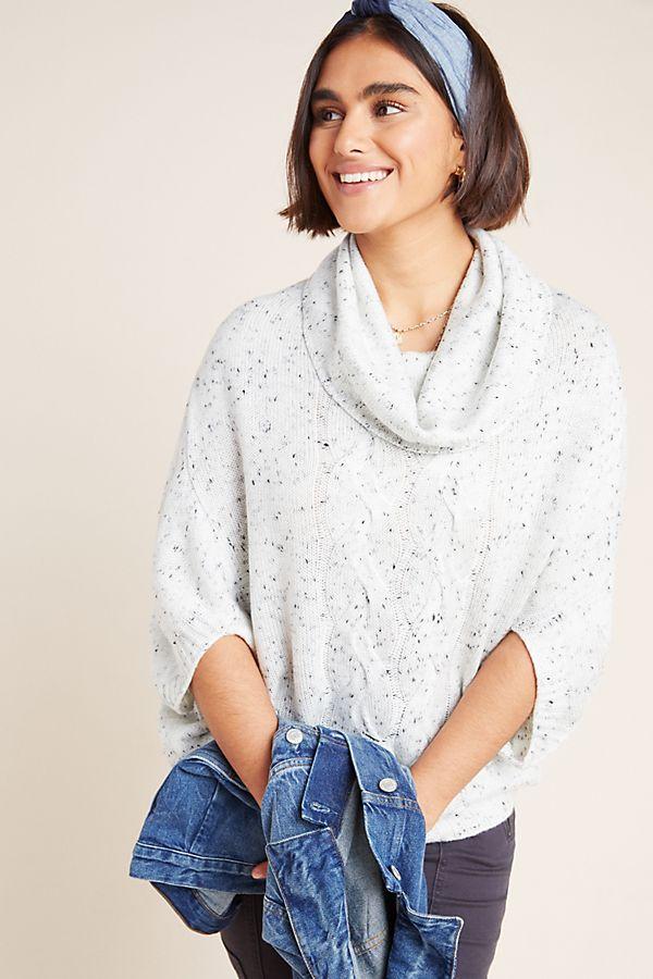 Slide View: 1: Simona Cowl Neck Sweater