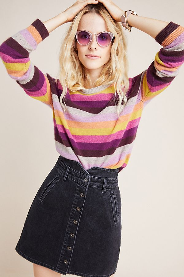 Slide View: 1: Mariah Cashmere Pullover