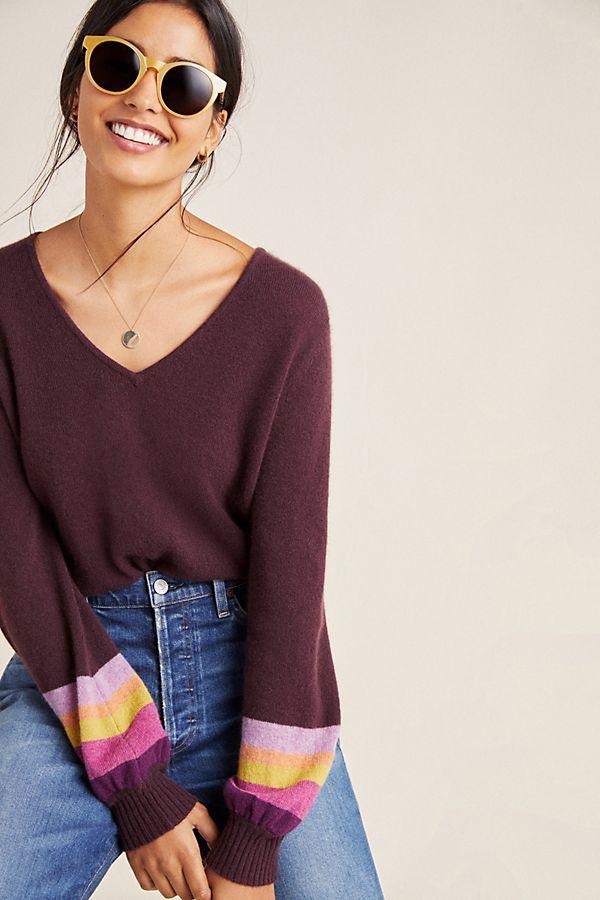 Slide View: 1: Caren Cashmere Sweater