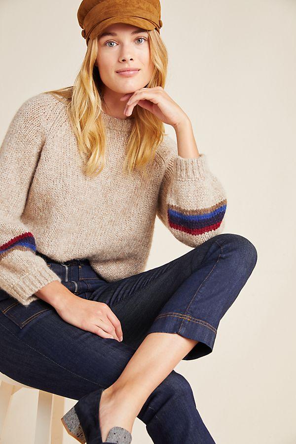 Slide View: 1: Addie Colorblocked Sweater