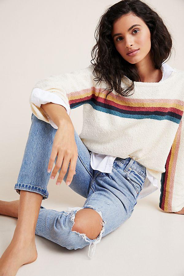 Slide View: 1: Emery Rainbow Sweater