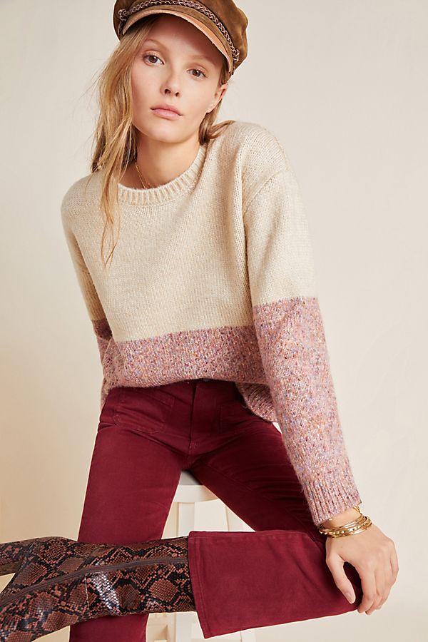 Slide View: 1: Sancha Colorblocked Sweater