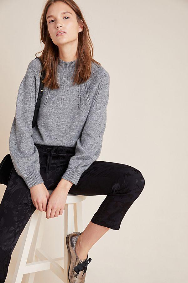 Slide View: 1: Sophia Tie-Back Sweater