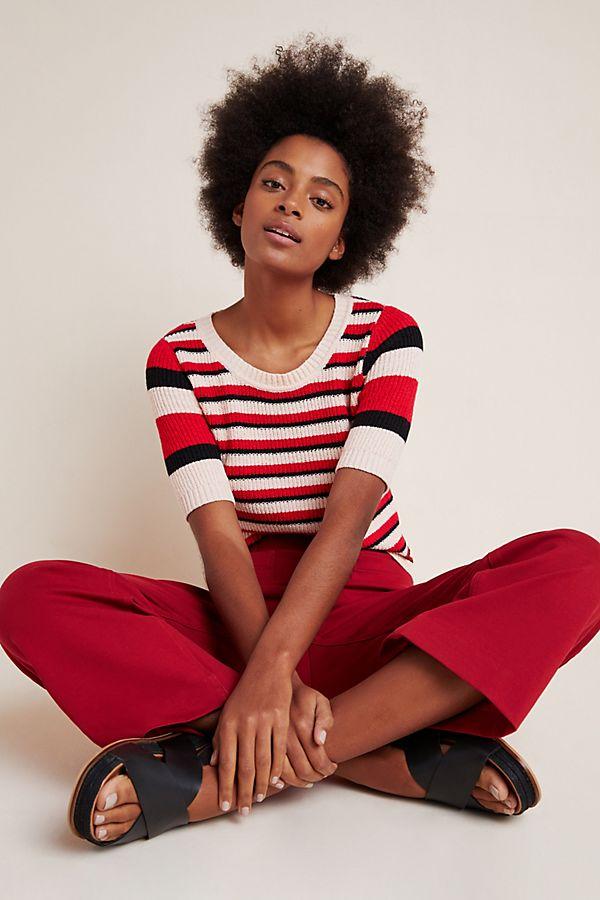 Slide View: 1: Kendra Sweater Tee
