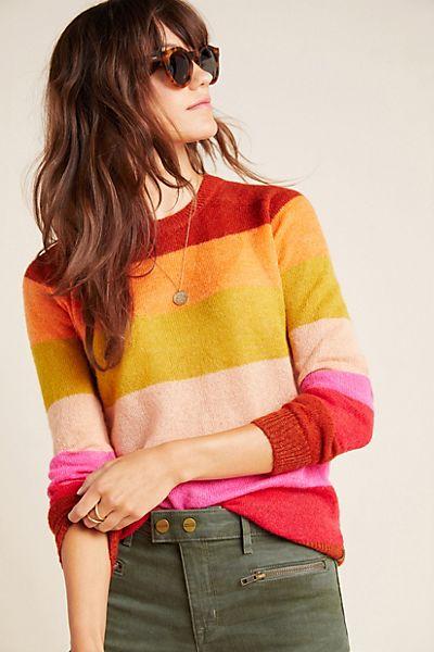 Scotch & Soda Natalia Striped Sweater