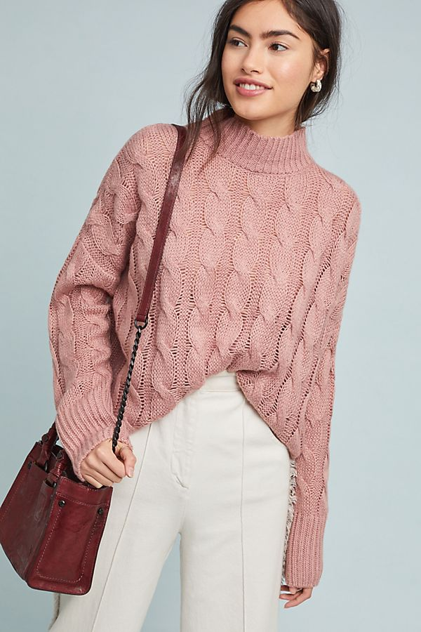 19c9b124ab2 Cable-Knit Pullover