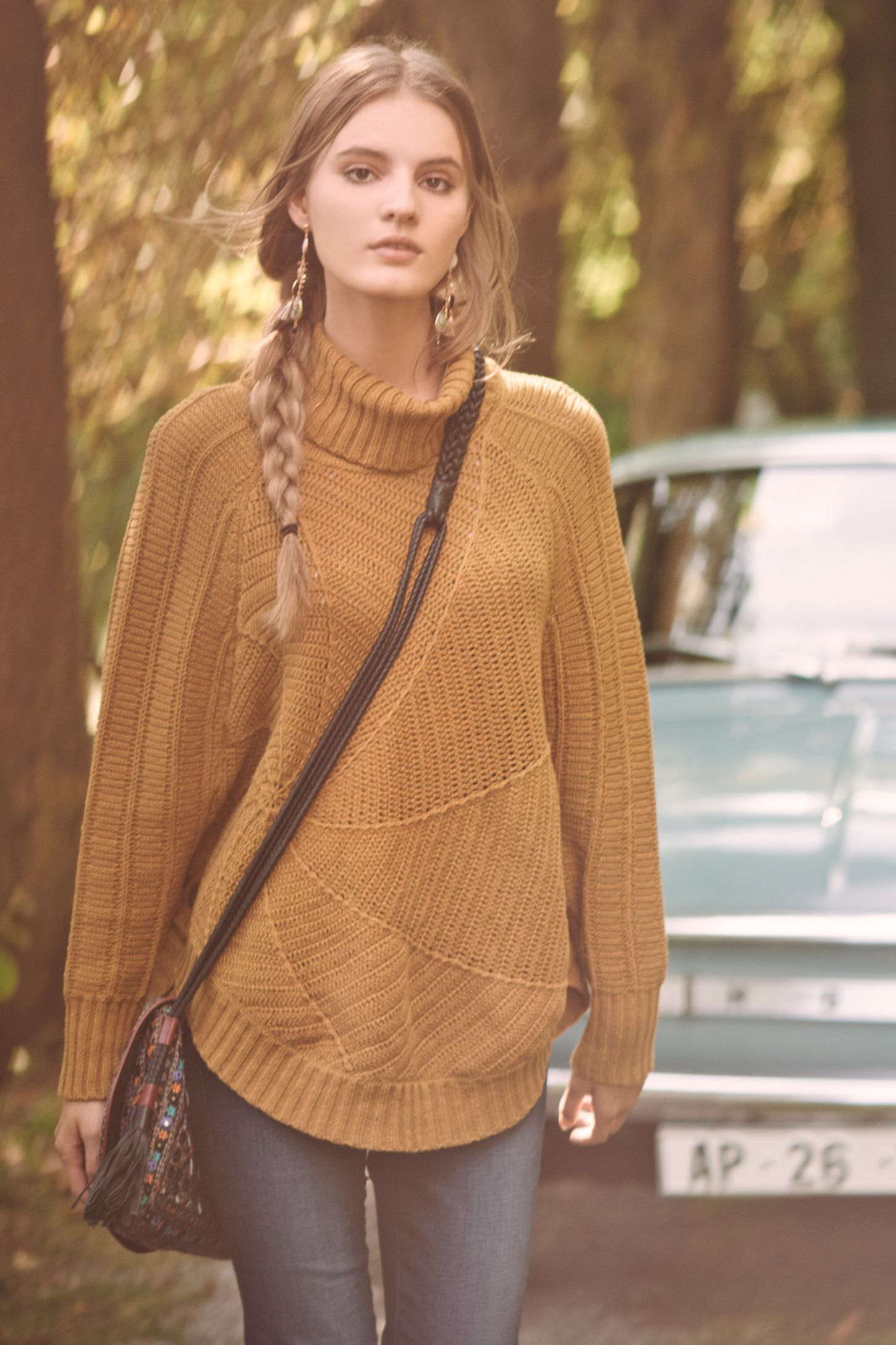 Harvest Moon Poncho | Anthropologie