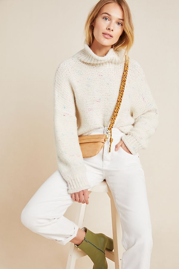 Slide View: 1: Charlotte Turtleneck Sweater