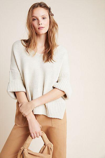 Avril V-Neck Sweater