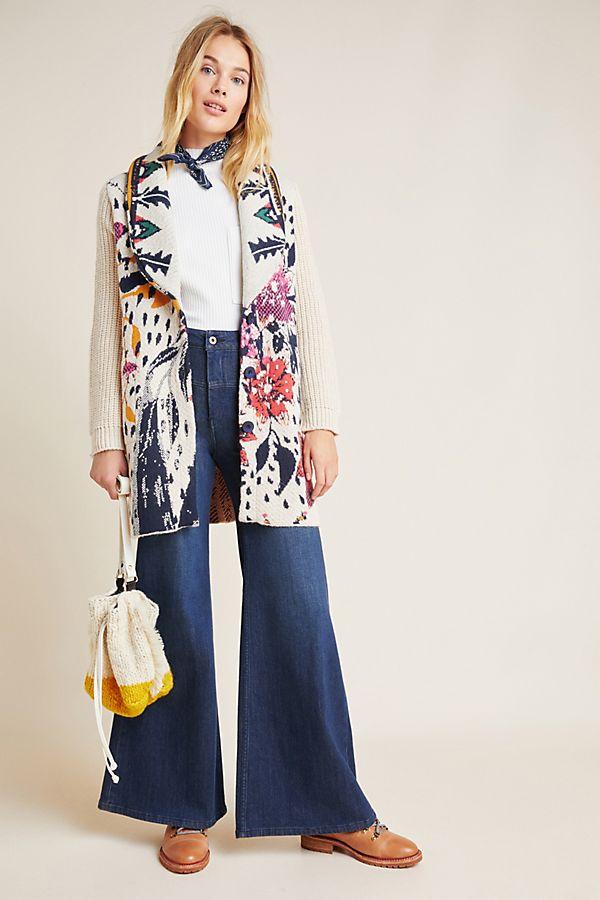 Slide View: 1: Maritza Floral Coat