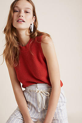 Slide View: 1: Wagner Sweater Tank