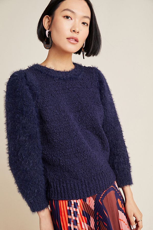 Slide View: 1: Valerie Eyelash Sweater