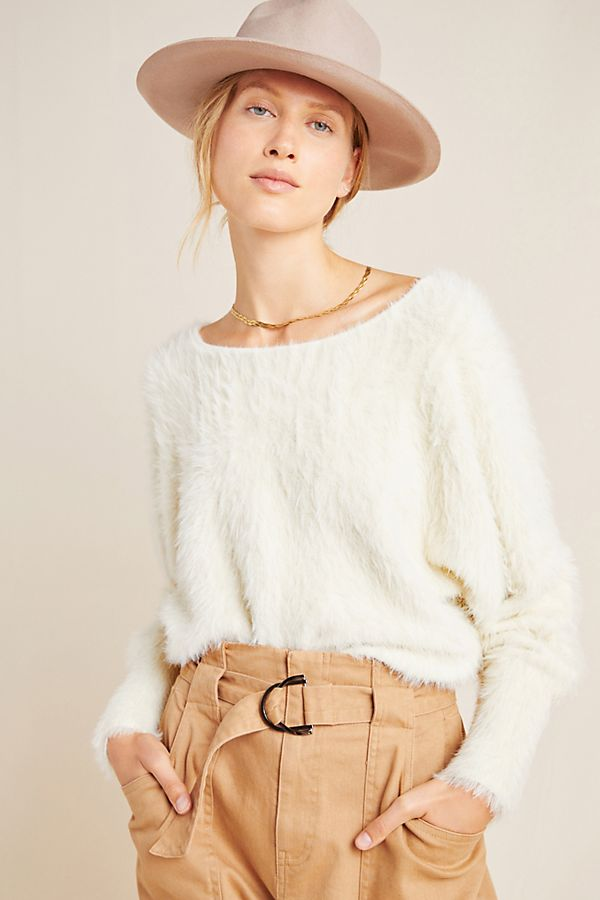 Slide View: 1: Ember Eyelash Sweater