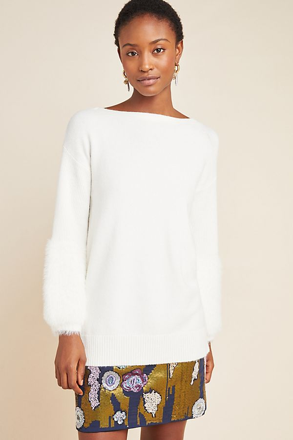 Slide View: 1: Colma Tunic Sweater
