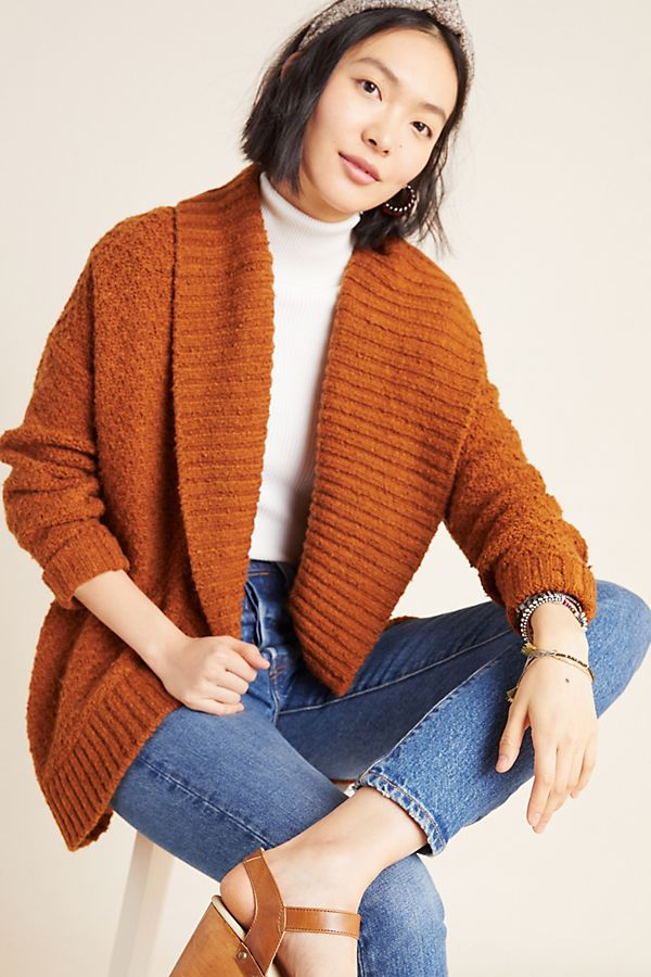 Slide View: 1: Denise Textured Cardigan