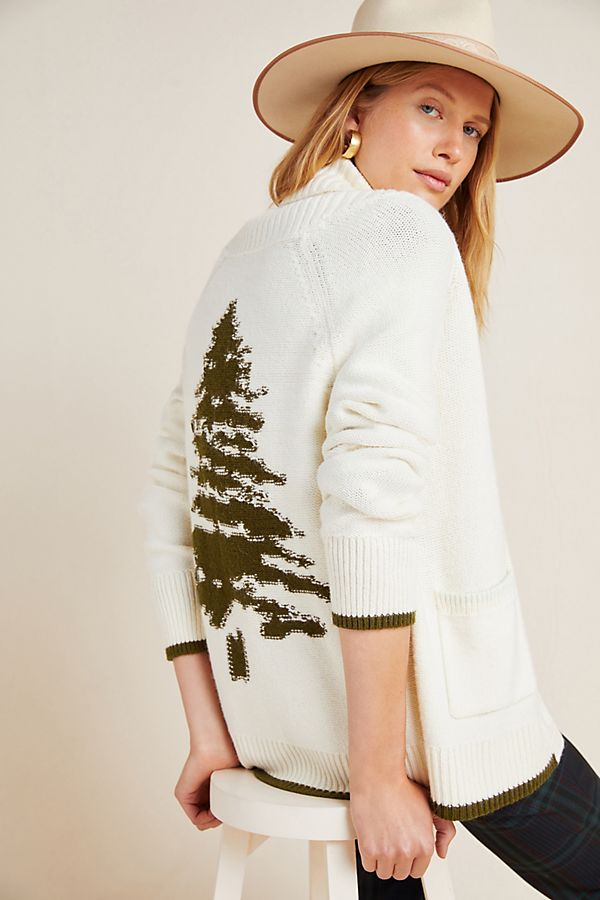 Slide View: 1: Evergreen Cardigan