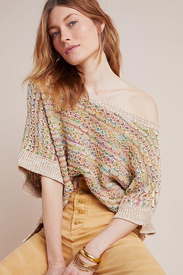 Slide View: 1: Yareli Sweater Tee