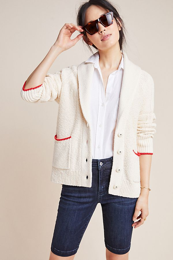 Slide View: 1: Lobster Knit Cardigan