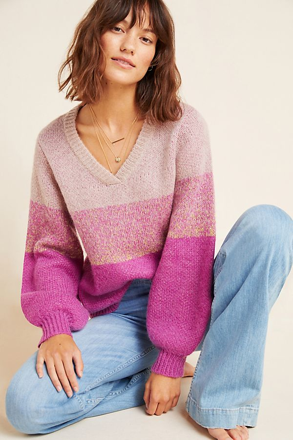 Nina Colorblocked Sweater