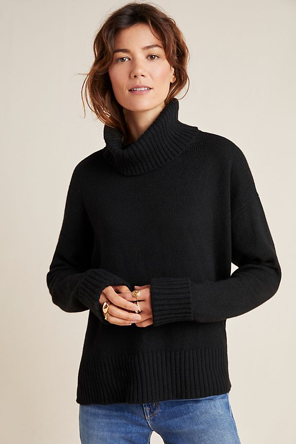 Slide View: 1: Blair Turtleneck Sweater