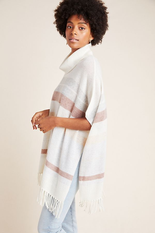 Slide View: 1: Camille Cashmere Poncho