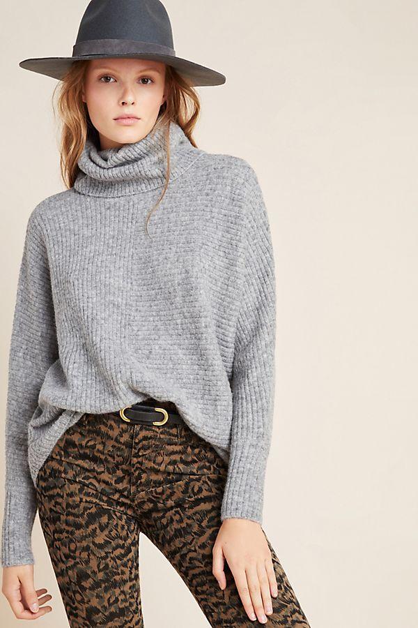 Slide View: 1: Cynthia Cowl Neck Sweater