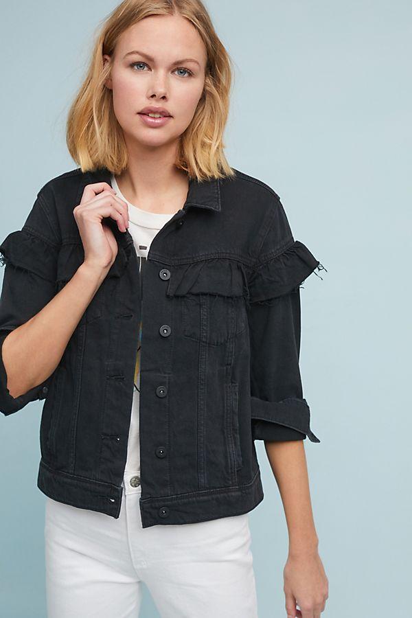 4118249400f2 Paige Heidi Ruffled Jacket | Anthropologie