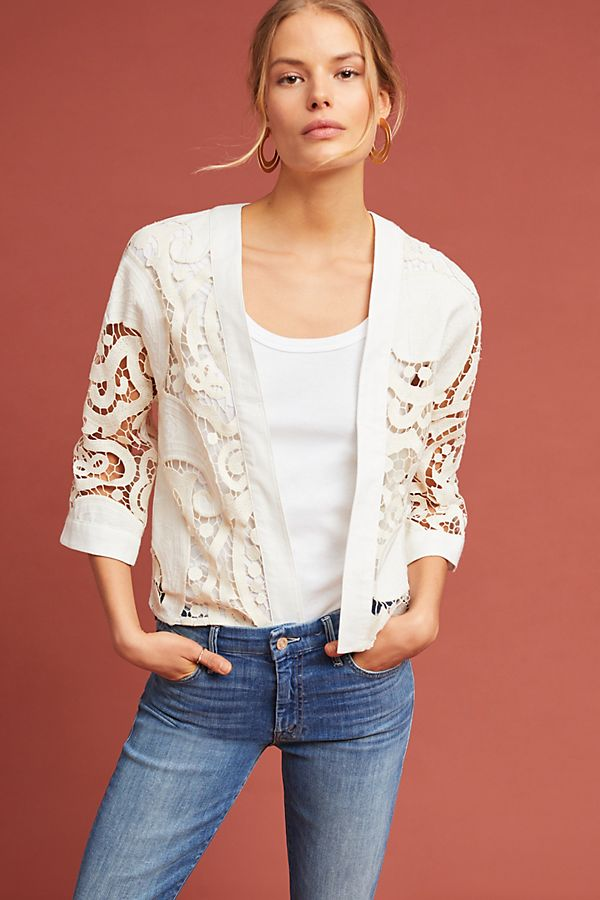 87f0c27640 Romantic Lace Kimono Jacket