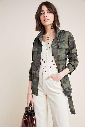 af5c1462669bf3 Marrakech Belted Camo Jacket