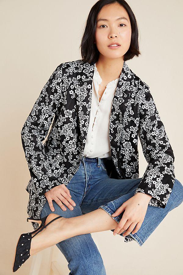 Slide View: 1: Kylie Embroidered Blazer