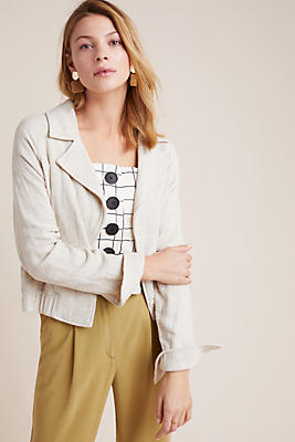 Slide View: 1: Collared Summer Jacket