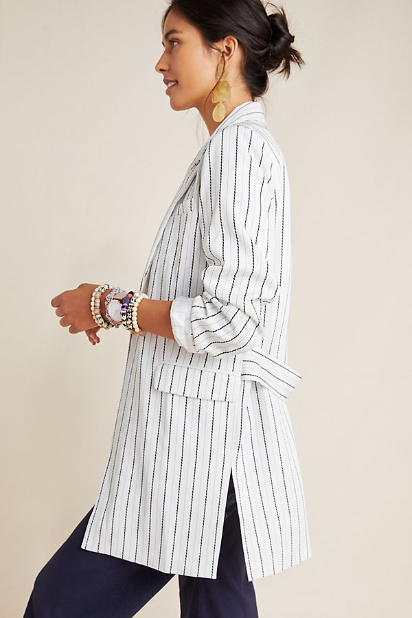 Slide View: 2: Tatum Striped Blazer