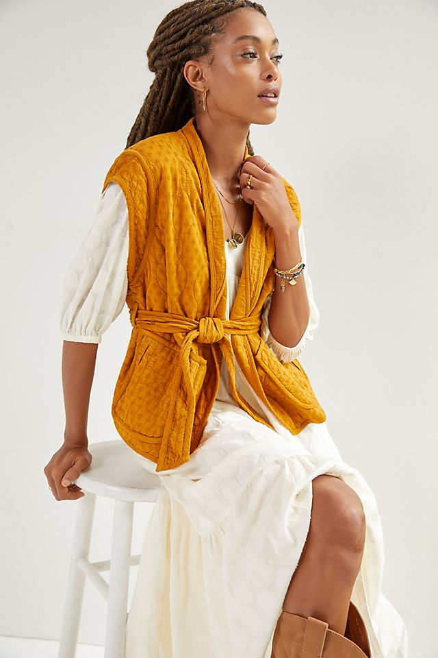 Quilted Vest Anthropologie