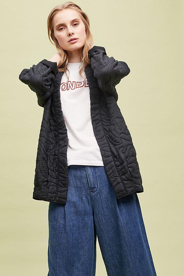1eda36c5c6 Quilted Kimono Jacket