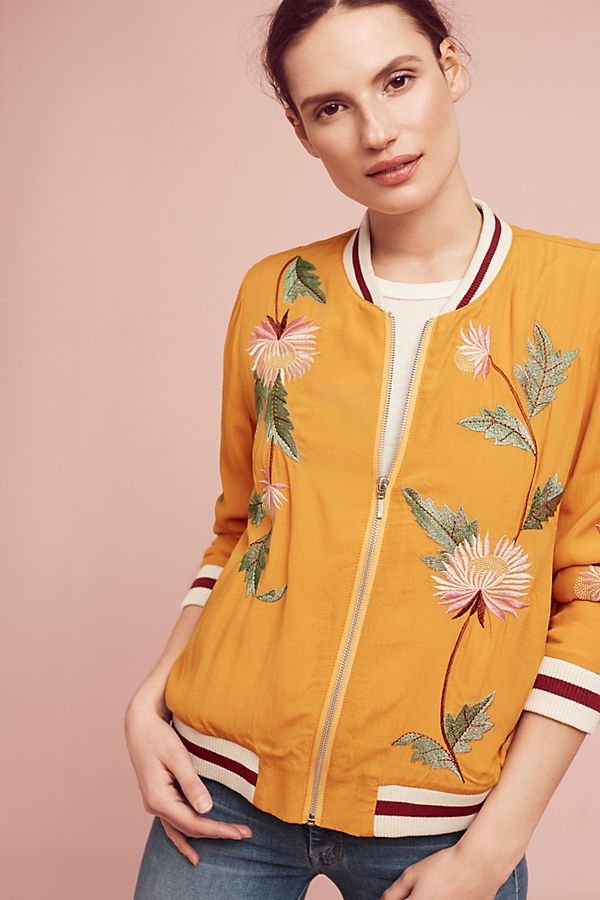 4759fe210 Embroidered Solstice Bomber