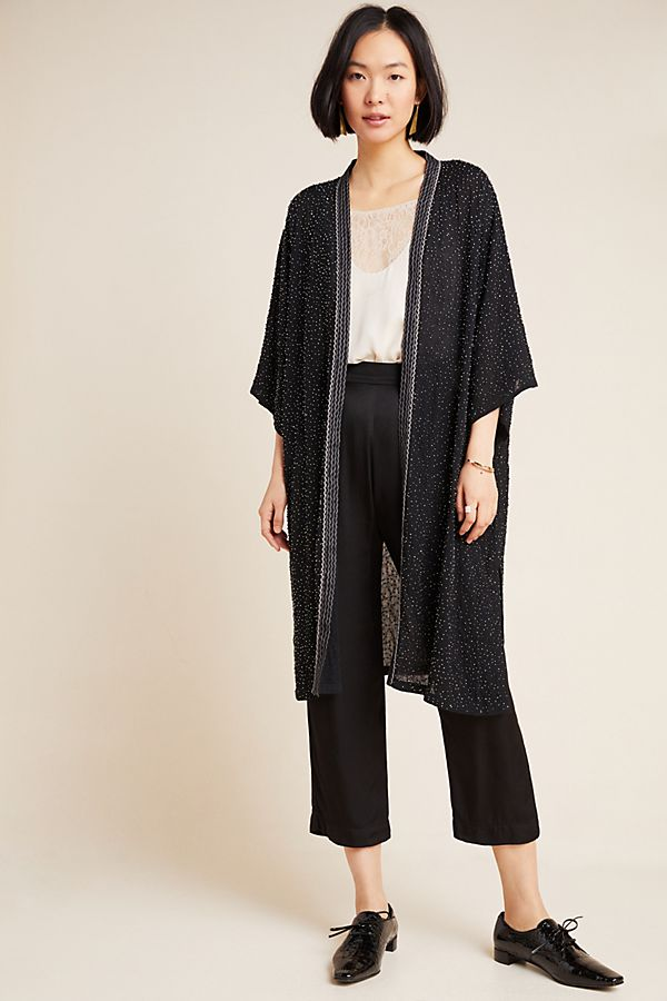 Artis Beaded Kimono by Bl Nk