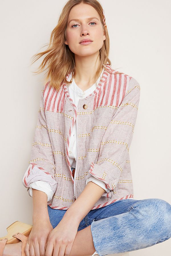 Slide View: 1: Carlota Quilted Jacket