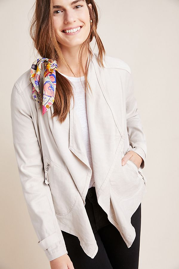 Slide View: 1: Gulliver Draped Jacket