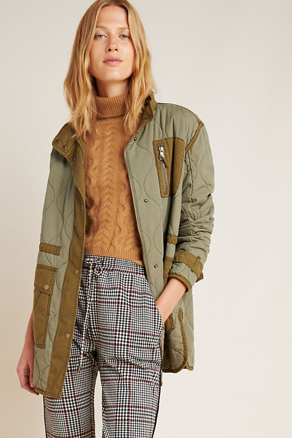 Slide View: 1: Quilted Liner Jacket