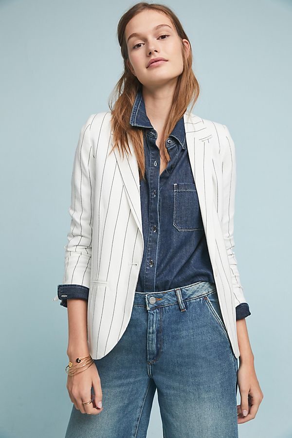 Slide View: 1: Blair Jacquard Blazer
