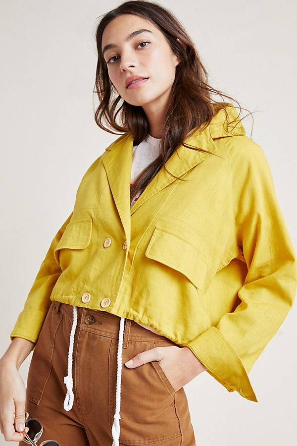 Slide View: 3: Lucille Cropped Anorak