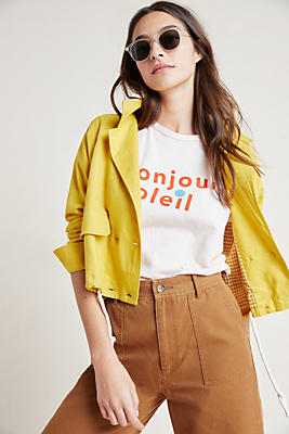 Slide View: 1: Lucille Cropped Anorak