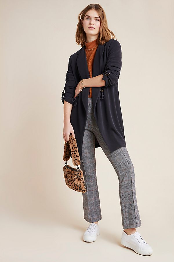 Slide View: 1: Alia Draped Cardigan