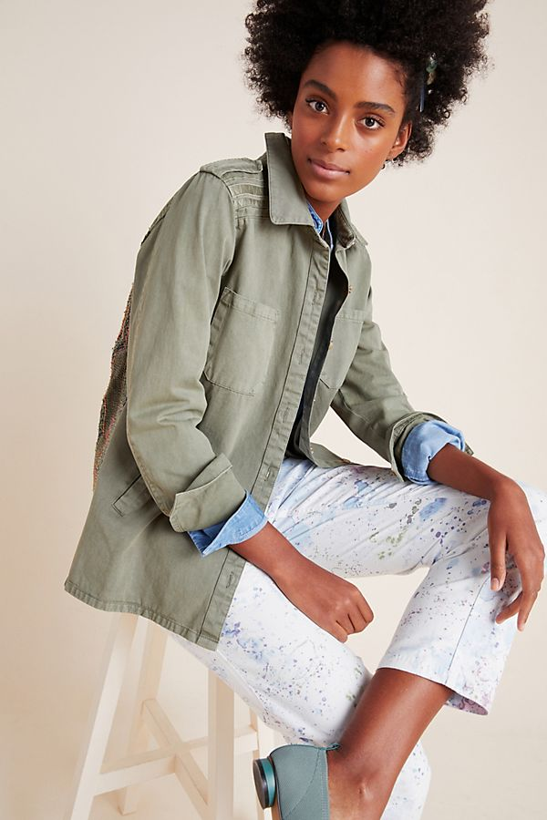 Slide View: 1: Radley Shirt Jacket