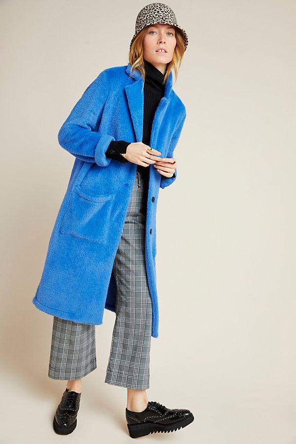Slide View: 1: Sanctuary Colleen Faux Fur Coat